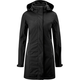Maier Sports Biggi Coat Women, black/black